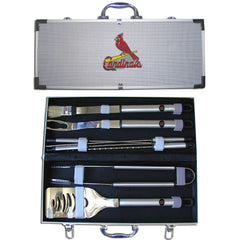 MLB 8 pc BBQ Set - St. Louis Cardinals