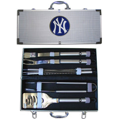 MLB 8 pc BBQ Set - New York Yankees