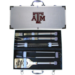 College 8 pc BBQ Set - Texas A & M Aggies