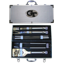 College 8 pc BBQ Set - Georgia Tech Yellow Jackets