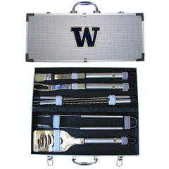 College 8 pc BBQ Set - Washington Huskies