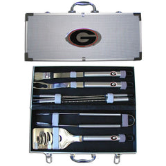 College 8 pc BBQ Set - Georgia Bulldogs
