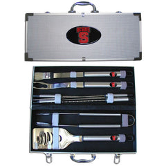 College 8 pc BBQ Set - N. Carolina St. Wolfpack