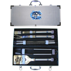 College 8 pc BBQ Set - N. Carolina Tar Heels