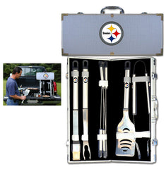 NFL 8 pc BBQ Set - Pittsburgh Steelers