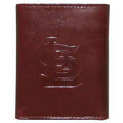 Cardinals MLB Leather Tri-fold