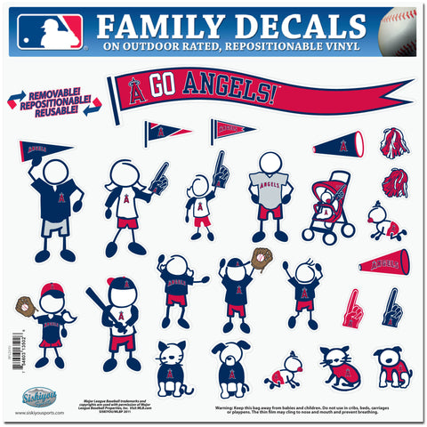 Angels of Anaheim Family Decal Lg.