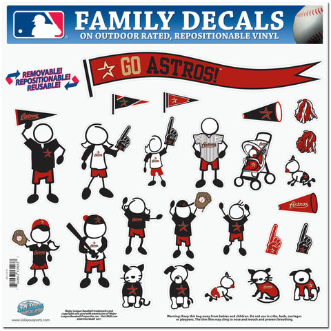 Astros Family Decal Lg.