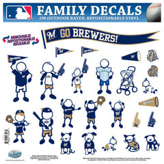 Brewers Family Decal Lg.
