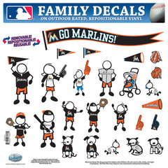 Marlins Family Decal Lg.