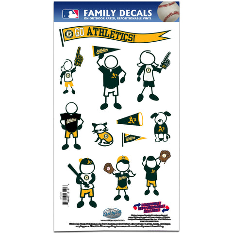Athletics Family Decal