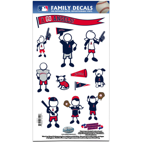 Angels of Anaheim Family Decal