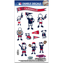 Cardinals Family Decal
