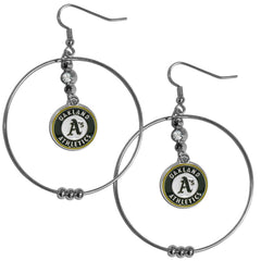 Athletics Hoop Earrings