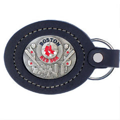 Boston Red Sox Lg. Leather Key Chain