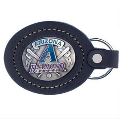 Arizona Diamondbacks Lg. Leather Key Chain