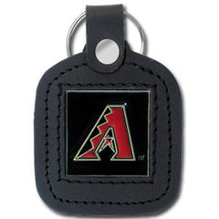 Arizona Diamondbacks Sq. Leather Key Chain