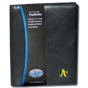Athletics Leather Portfolio