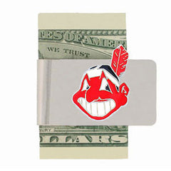 Cleveland Indians Steel Money Clip