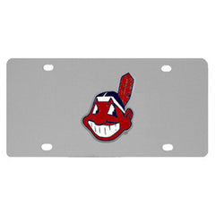 Cleveland Indians Steel License Plate