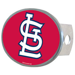 Cardinals MLB Oval Hitch Cover