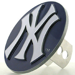 Logo Cut MLB Trailer Hitch Cover - New York Yankees
