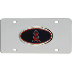 Angels Steel License Plate