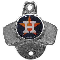 Astros Wall Mount Bottle Opener