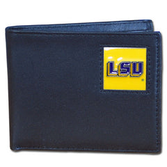 College Bi-fold Wallet Boxed - LSU Tigers