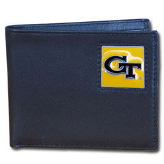 College Bi-fold Wallet - Georgia Tech Yellow Jackets