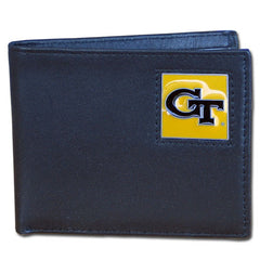 College Bi-fold Wallet Boxed- Georgia Tech Yellow Jackets