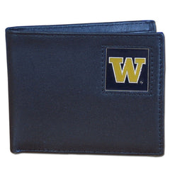 College Bi-fold Wallet Boxed - Washington Huskies