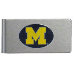 Michigan Brushed Money Clip