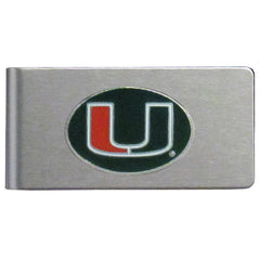Miami Brushed Money Clip