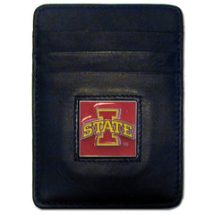 College Money Clip/Card Holder Boxed- Iowa St. Cyclones
