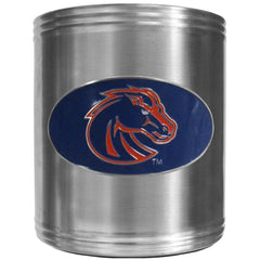 Boise St. Broncos Steel Can Cooler