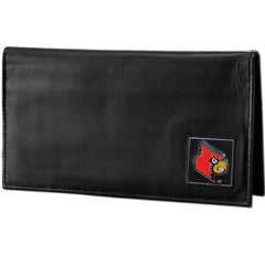 Deluxe College Checkbook Boxed- Louisville Cardinals