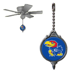 Ceiling Fan Pull - Kansas Jayhawks