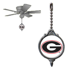 Ceiling Fan Pull - Georgia Bulldogs