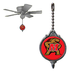 Ceiling Fan Pull - Maryland Terrapins
