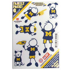 Michigan Family Decals Sm.