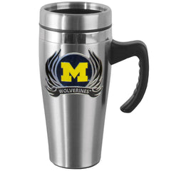 Michigan Flame Steel Mug w/Handle