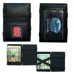 N. Carolina St. Leather Jacob's Ladder Wallet