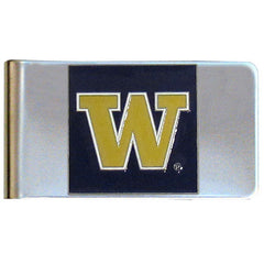 College Large Money Clip - Washington Huskies