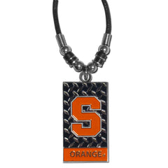 Syracuse Gridiron Necklace
