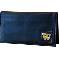College Executive Checkbook Cover Boxed- Washington Huskies
