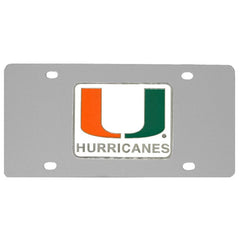 College License Plate - Miami Hurricanes