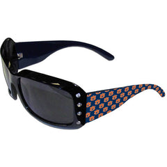 Auburn Designer Sunglasses with Rhinestones
