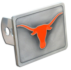 College Trailer Hitch Cover - Texas Longhorns