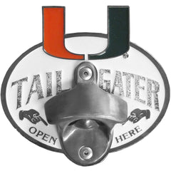 Collegiate Hitch Cover - Miami Hurricanes